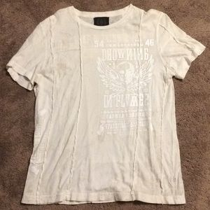 MENS COOL WHITE TEE